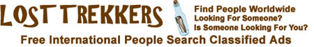 Lost Trekkers Free International People Search Find People